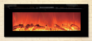ToSO Electric Fireplace - bg-50b