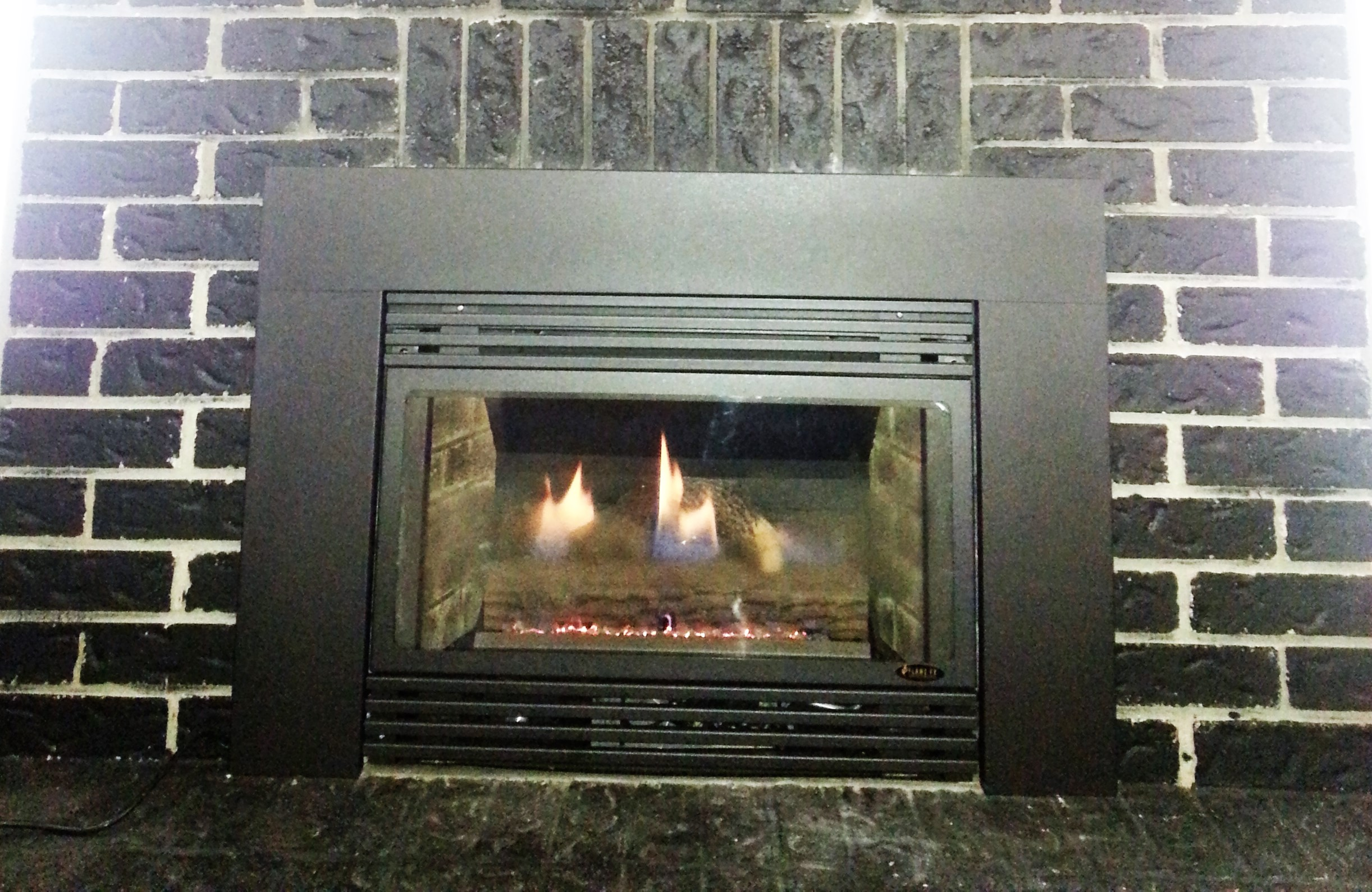 Flame fx gas fireplace fireplace depot for Direct flame