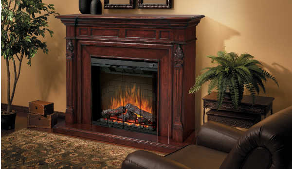 dimplex torchiere electric fireplace mantel