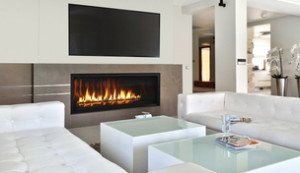 astria direct vent modern fireplace