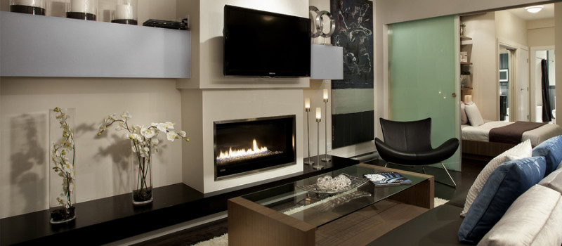 montigo modern gas fireplace