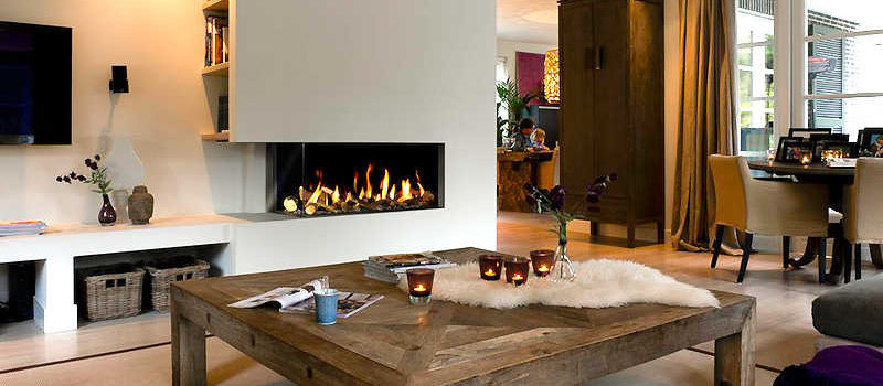 bellfires custom gas fireplace
