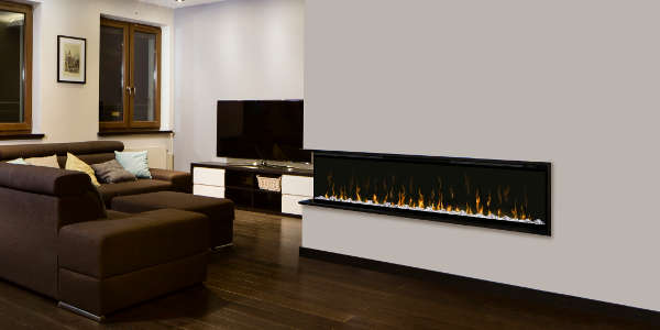 dimplex xlf74 wall mount electric fireplace