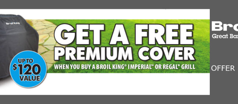 broil king free cover promo
