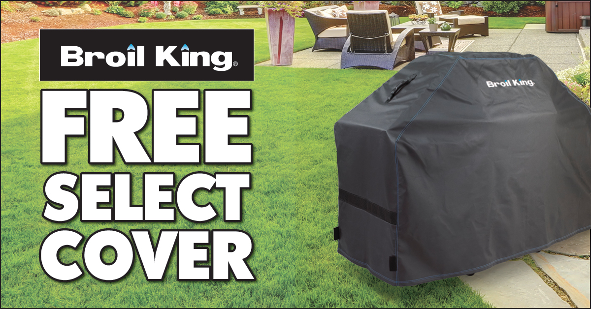 broil king free cover sale